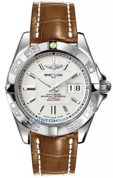 Breitling Galactic 41 Mens watch, model number - a49350L2/g699-2cd, discount price of £3,440.00 from The Watch Source
