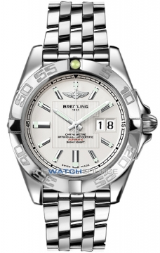 Breitling Galactic 41 Mens watch, model number - a49350L2/g699-ss, discount price of £3,800.00 from The Watch Source