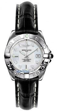 Breitling Galactic 32 Ladies watch, model number - a71356L2/a708-1ct, discount price of £2,900.00 from The Watch Source