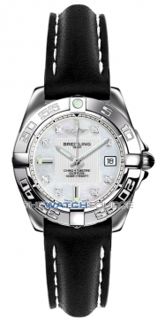 Breitling Galactic 32 Ladies watch, model number - a71356L2/a708-1lt, discount price of £2,640.00 from The Watch Source