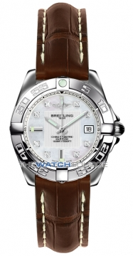 Breitling Galactic 32 Ladies watch, model number - a71356L2/a708-2cd, discount price of £3,050.00 from The Watch Source