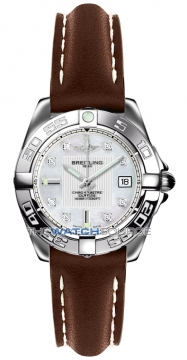 Breitling Galactic 32 Ladies watch, model number - a71356L2/a708-2ld, discount price of £2,810.00 from The Watch Source