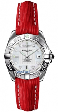 Breitling Galactic 32 Ladies watch, model number - a71356L2/a708-6lts, discount price of £2,640.00 from The Watch Source