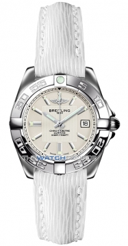 Breitling Galactic 32 Ladies watch, model number - a71356L2/g702-8lts, discount price of £2,230.00 from The Watch Source
