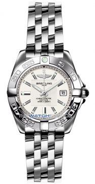Breitling Galactic 32 Ladies watch, model number - a71356L2/g702-ss, discount price of £3,010.00 from The Watch Source