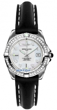 Breitling Galactic 32 Ladies watch, model number - a71356LA/a708-1lt, discount price of £4,580.00 from The Watch Source