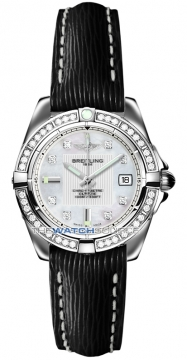 Breitling Galactic 32 Ladies watch, model number - a71356LA/a708-1lts, discount price of £4,580.00 from The Watch Source