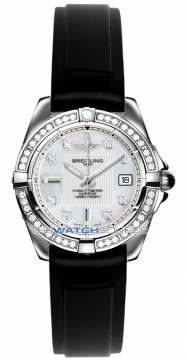 Breitling Galactic 32 Ladies watch, model number - a71356LA/a708-1rt, discount price of £4,550.00 from The Watch Source