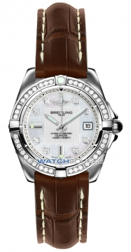 Breitling Galactic 32 Ladies watch, model number - a71356LA/a708-2cd, discount price of £4,990.00 from The Watch Source