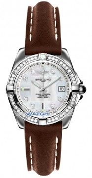 Breitling Galactic 32 Ladies watch, model number - a71356LA/a708-2ld, discount price of £4,750.00 from The Watch Source