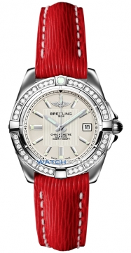 Breitling Galactic 32 Ladies watch, model number - a71356LA/g702-6lts, discount price of £4,180.00 from The Watch Source