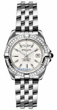 Breitling Galactic 32 Ladies watch, model number - a71356LA/g702-ss, discount price of £4,960.00 from The Watch Source