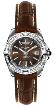 Breitling Galactic 32 Ladies watch, model number - a71356LA/q579-2cd, discount price of £4,580.00 from The Watch Source