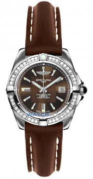 Breitling Galactic 32 Ladies watch, model number - a71356LA/q579-2ld, discount price of £4,340.00 from The Watch Source