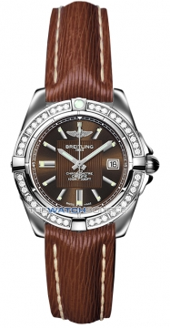 Breitling Galactic 32 Ladies watch, model number - a71356LA/q579-2lts, discount price of £4,180.00 from The Watch Source