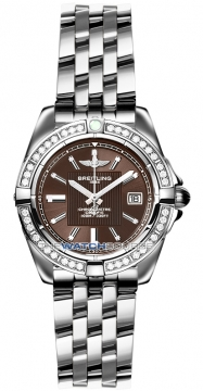 Breitling Galactic 32 Ladies watch, model number - a71356LA/q579-ss, discount price of £4,960.00 from The Watch Source