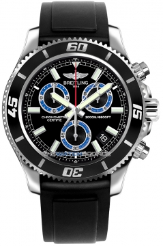 Breitling Superocean Chronograph M2000 Mens watch, model number - a73310a8/bb74-1pro2d, discount price of £3,480.00 from The Watch Source