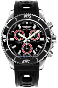 Breitling Superocean Chronograph M2000 Mens watch, model number - a73310a8/bb72-1or, discount price of £3,360.00 from The Watch Source