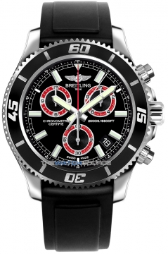 Breitling Superocean Chronograph M2000 Mens watch, model number - a73310a8/bb72-1pro3t, discount price of £3,472.00 from The Watch Source