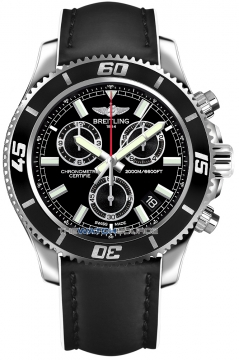 Breitling Superocean Chronograph M2000 Mens watch, model number - a73310a8/bb73-1lts, discount price of £3,230.00 from The Watch Source