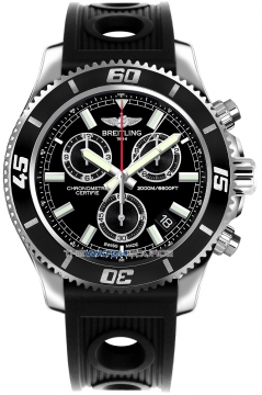 Breitling Superocean Chronograph M2000 Mens watch, model number - a73310a8/bb73-1or, discount price of £3,360.00 from The Watch Source