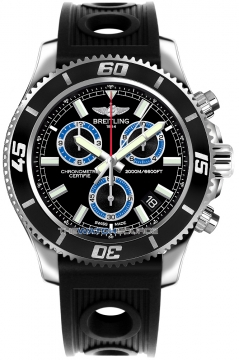 Breitling Superocean Chronograph M2000 Mens watch, model number - a73310a8/bb74-1or, discount price of £3,360.00 from The Watch Source