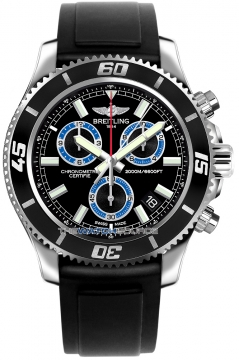 Breitling Superocean Chronograph M2000 Mens watch, model number - a73310a8/bb74-1pro3d, discount price of £3,672.00 from The Watch Source