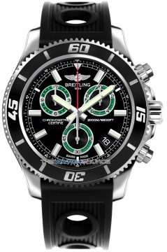 Breitling Superocean Chronograph M2000 Mens watch, model number - a73310a8/bb75-1or, discount price of £3,360.00 from The Watch Source