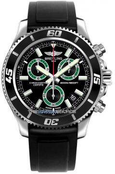 Breitling Superocean Chronograph M2000 Mens watch, model number - a73310a8/bb75-1pro3t, discount price of £3,190.00 from The Watch Source