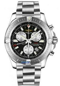 Breitling Colt Chronograph Mens watch, model number - a7338811/bd43-ss, discount price of £2,590.00 from The Watch Source