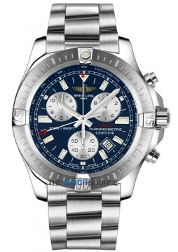 Breitling Colt Chronograph Mens watch, model number - a7338811/c905-ss, discount price of £2,590.00 from The Watch Source