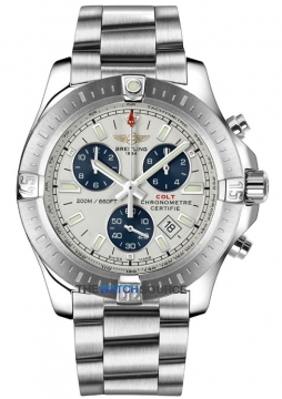 Breitling Colt Chronograph Mens watch, model number - a7338811/g790-ss, discount price of £2,590.00 from The Watch Source