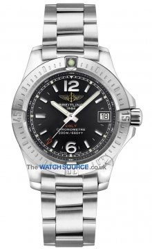 Breitling Colt Lady 33mm Ladies watch, model number - a7738811/bd46-ss, discount price of £2,070.00 from The Watch Source