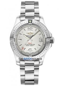 Breitling Colt Lady 33mm Ladies watch, model number - a7738811/g793-ss, discount price of £2,070.00 from The Watch Source