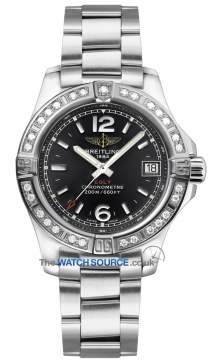 Breitling Colt Lady 33mm Ladies watch, model number - a7738853/bd46-ss, discount price of £3,440.00 from The Watch Source