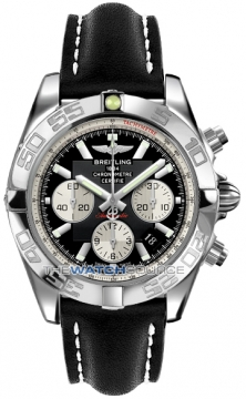 Breitling Chronomat 44 Mens watch, model number - ab011012/b967-1LT, discount price of £5,180.00 from The Watch Source