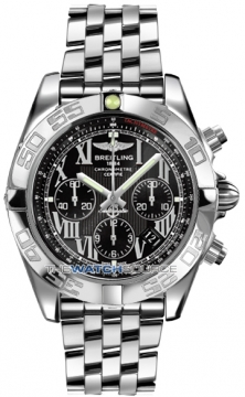 Breitling Chronomat 44 Mens watch, model number - ab011012/b956-ss, discount price of £5,980.00 from The Watch Source