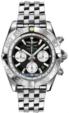 Breitling Chronomat 44 Mens watch, model number - ab011012/b967-ss, discount price of £5,980.00 from The Watch Source