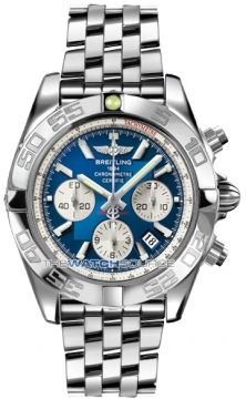 Breitling Chronomat 44 Mens watch, model number - ab011012/c788-ss, discount price of £5,980.00 from The Watch Source