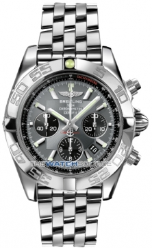 Breitling Chronomat 44 Mens watch, model number - ab011012/f546-ss, discount price of £5,980.00 from The Watch Source