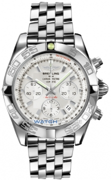 Breitling Chronomat 44 Mens watch, model number - ab011012/g684-ss, discount price of £5,980.00 from The Watch Source