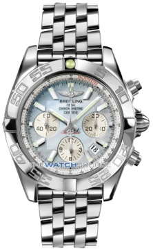 Breitling Chronomat 44 Mens watch, model number - ab011012/g685-ss, discount price of £6,360.00 from The Watch Source
