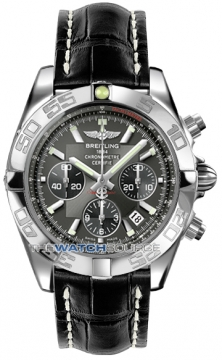 Breitling Chronomat 44 Mens watch, model number - ab011012/m524-1ct, discount price of £5,440.00 from The Watch Source