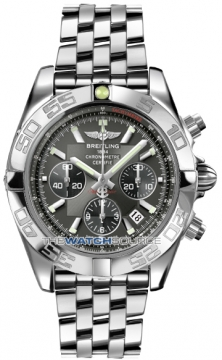 Breitling Chronomat 44 Mens watch, model number - ab011012/m524-ss, discount price of £5,980.00 from The Watch Source