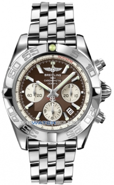 Breitling Chronomat 44 Mens watch, model number - ab011012/q575-ss, discount price of £5,980.00 from The Watch Source