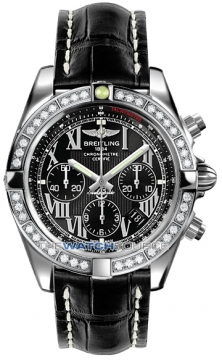 Breitling Chronomat 44 Mens watch, model number - ab011053/b956-1ct, discount price of £9,430.00 from The Watch Source
