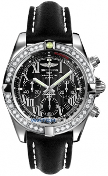 Breitling Chronomat 44 Mens watch, model number - ab011053/b956-1lt, discount price of £9,170.00 from The Watch Source