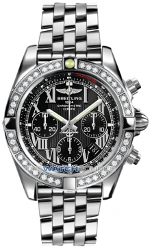 Breitling Chronomat 44 Mens watch, model number - ab011053/b956-ss, discount price of £9,960.00 from The Watch Source