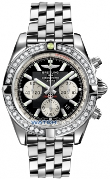 Breitling Chronomat 44 Mens watch, model number - ab011053/b967-ss, discount price of £9,960.00 from The Watch Source