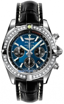 Breitling Chronomat 44 Mens watch, model number - ab011053/c789-1ct, discount price of £9,430.00 from The Watch Source